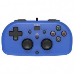 Mini Manette filaire bleue Hori pour PS4