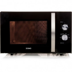 DOMO DO2431-Micro-ondes monofonction noir-30 L-900 W