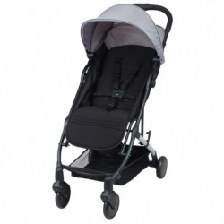 BAMBIKID Poussette citadine Yuko - ultra compacte - Grise