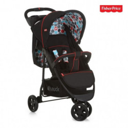 HAUCK - poussette 3 roues vancouver - Fisher Price - black