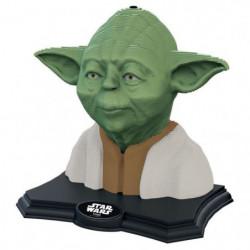 STAR WARS Color Sculpture Puzzle 3D Yoda