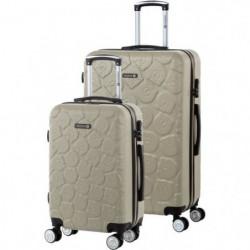 TEDDY BEAR Ensemble de 2 valises rigides Cabine et Maxi