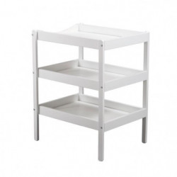 TINEO Table a langer (3 plateaux) blanc