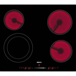 BEKO HIC64502T Table de cuisson vitrocéramique - 4 zones