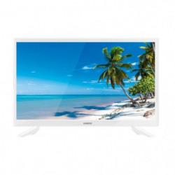 "TV Océanic 24"" HD Blanche"
