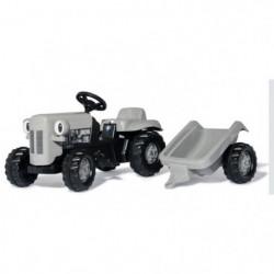 ROLLY TOYS Tracteur a pédales gris Little Grey Fergie