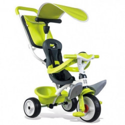 SMOBY Tricycle Baby Balade Roues Silencieuses Vert