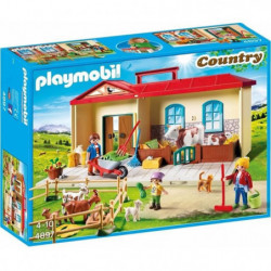 PLAYMOBIL 4897 - Country - Ferme Transportable